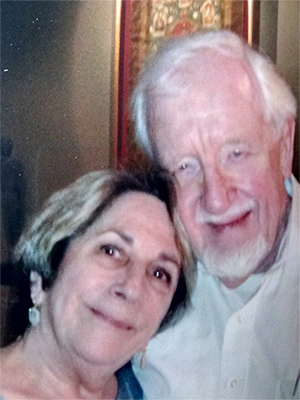 Claudia Land and Dr. Theo Wilson