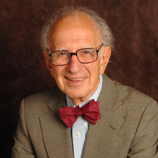 Eric Kandel, Nobel Prize winner and Co-Director of the Zuckerman Institute