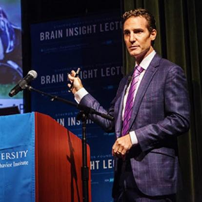 barclay morrison speaks at brain insight lecture