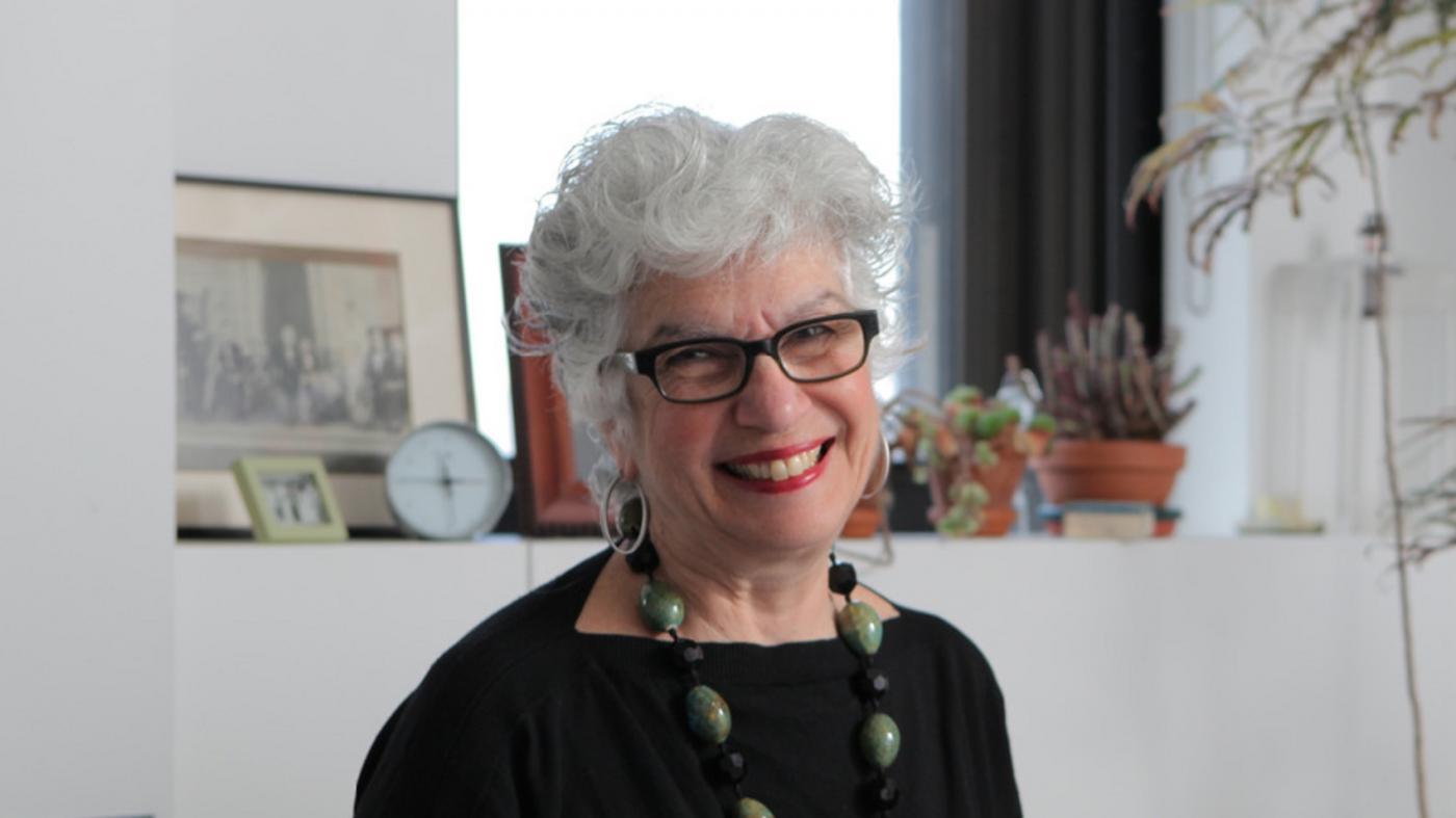 Carol Ann Mason, PhD in office
